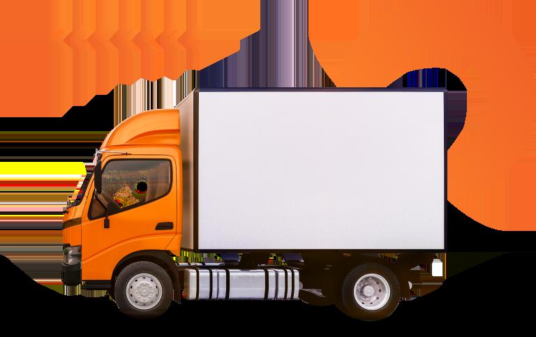 Caminhão de transporte